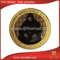 China Portrait of commemorative coins figure style high details wholesale