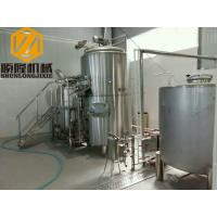 Quality Steam Heated Small Brewing Systems 1000L Auto Control CE Certificated for sale