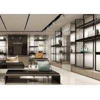 Quality Disassembly Structured Handbag Display Cabinet Retail Bags Shop Interior Design for sale