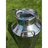 China Hot Sales Used Stainless Steel Milk Cans for Sale New and Luxury Stainless Steel Milk Can wholesale