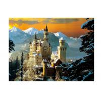 China Stock Neuschwanstein Castle 3D Lenticular Living Room Painting Picture PET Printing wholesale