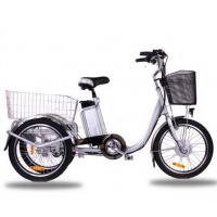 China Aluminum Alloy Frame Adult Size Tricycle 250W Electric Powered Tricycle wholesale