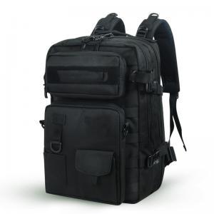 China Shoulder black military backpacks 40 L durable Camo Backpacks bags wholesale