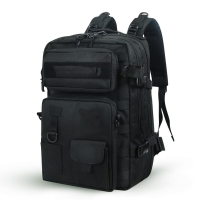 Buy cheap Shoulder black military backpacks 40 L durable Camo Backpacks bags from wholesalers