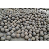 China Even hardness and unbreakable 40mm Steel grinding media / Forged Grinding Ball on sale