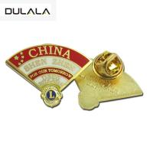 China Wholesale Manufacturers In China Cheap Bulk Custom Metal Hard Enamel Lapel Pin wholesale