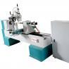 China 4kw rotating motor CNC Wood Carving lathe machine with spindle wholesale