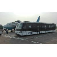 China Fully Aluminum Body Airport Bus 110 Passengers  24m2 Standing Area wholesale