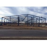 China Prefabricated Steel Frame Buildings / Metal Building Frame Structure Warehouse on sale