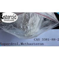 China 17a-Methyl-Drostanolone Bodybuilding Steroids Superdrol Methasteron Powder CAS 3381-88-2 wholesale
