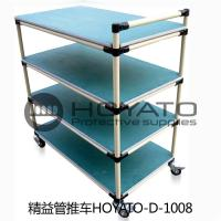 China OEM / ODM ESD Consumables Oil Resistant Non Toxic Turnover Box With Lean Pipe wholesale