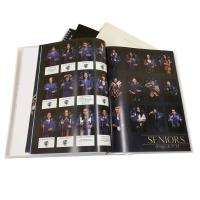 China Eco - Friendly Printed School Memory Journal Book High School Yearbook Printing Service wholesale