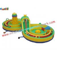 China Outdoor Small Children Inflatable Amusement Park , Inflatable Sport Games Safe for Rental on sale