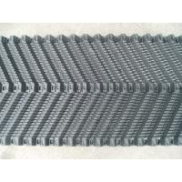 China Blue PVC Cooling Tower Fill , Double-Trapezoidal Wave Film Filling on sale