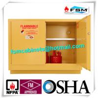 China Flame Proof Hazmat Storage Cabinets Single Door For Cylinder / Paint / Chemical wholesale