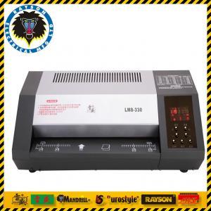 China Professional Document Lamination Machine / Plastic Laminate Machine 8 Rollers wholesale