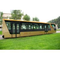 China 13 Seater 77 Passenger International Airport Bus Ramp Bus With Adjustable Seats wholesale