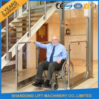 China Wheelchair Hydraulic Platform Lift with Powder Coating Stainless Steel / Aluminum Alloy Material wholesale