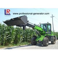 China 1 Ton Load Telescopic Boom Mini Wheel Loader With 37kW Yunnei Engine on sale