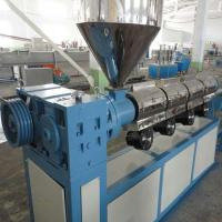 China Single Screw Extruder PVC Profile Extrusion Line , 100kg Output PVC Extruder Machine on sale