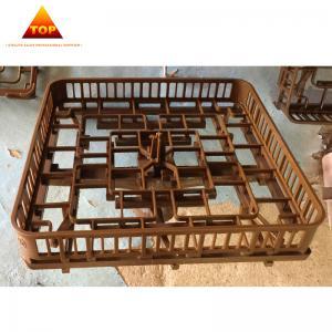 China Stainless Steel Heat Treatment Baskets Metal Heat Treatment Furnace Frame Rack on sale