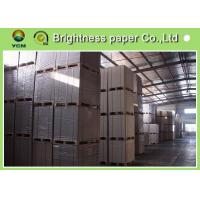 China CCNB Coated Board Paper Grey Back For Making Boxes Good Stiffness wholesale