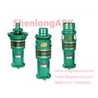 China Cast iron or stanless steel  blue QY Oil Immersed submersible pumps wholesale