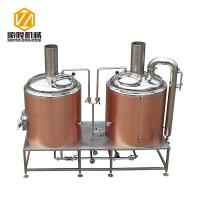 China Rose Gold SS304 / 316 500L Small Brewery Equipment 50 / 60 Hz Frequency wholesale