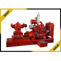 China Professioal Diesel Water Transfer Pumps Powerful , Petrol Water Pump For Fire Fighting wholesale