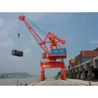 China 103 KW 72 t 6 - 14 m portal boom Bench PLC control gantry Crane specification wholesale
