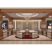 China Modular Island Jewelry Retail Glass Display Cases / Jewelry Store Display Cases wholesale