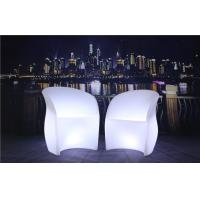 China 3 Pcs Color Charging LED Glow Furniture AC 100-240V Input LED Tables And Chairs wholesale