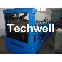 China Hydraulic Cutting Steel C Shaped Purlin Roll Forming Machine For GI, Carbon Steel Material wholesale