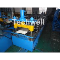 China Corrugated Profile Roof Roll Forming Machine For Making The Corrugated Sheets wholesale