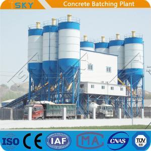 China Pipe Segments Pile Box Culvert 180m3 Precast Batch Plant wholesale