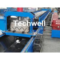 Buy cheap 3 Wave Highway Guardrail Roll Forming Machine for Making Steel Curvinging from wholesalers