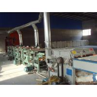 China Cotton waste recycling line for spinning on sale