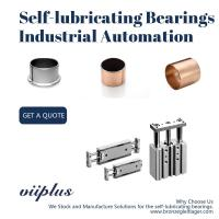 China Straight Self Lubricating Plain Bearing / Bushings For Cylinder & Automatic Guide Rail wholesale