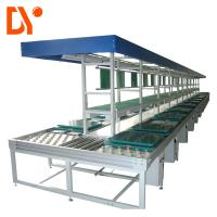 China Dual Face Assembly Line System DY232 Green Color For Industrial Workshop on sale