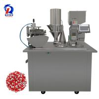 China Semi Automatic Capsule Filling Powder Machine With Sowing Protective Device wholesale