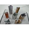 China Wood Finished Aluminium Door Profiles Strength Hardness Wear Resistance wholesale