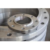 China ASME DIN Forged Steel Flanges Diameter 200 - 1200 Mm UT Test TUV Certificate wholesale