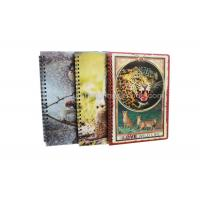 China Stationery Diary A4 Size Notebooks 3D Lenticular Cover Of Famous Views wholesale