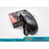 China Electronic Baccarat Gambling Systems Casino Optical Mute Wired Gaming Mouse wholesale