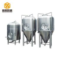 Quality Glycol Cooling Stainless Steel Fermentation Vessel 20HL 360° Coverage Spraying for sale