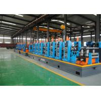 Buy cheap CE / ISO Welded Pipe Making Machine Or ERW Tube Mill Line High Precision from wholesalers