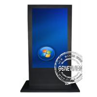 China 55 Inch Touch Screen Kiosk with 1920*1080 , Full HD Colorful Screen wholesale