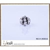 China 2012 hot selling jewelry 316l stainless steel ring H-JK0016 customed size and logo wholesale