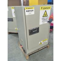 China 12 Gallon Fireproof Hazmat Storage Cabinets Customized For Storing Hazardous Substances wholesale