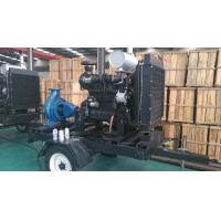 China Trailer Diesel Water Pump Set With Cummins Diesel Engines For Agriculture irrigation wholesale
